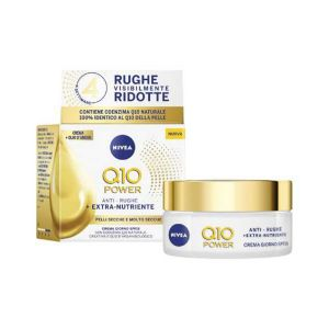 NIVEA Crema Antirughe Q10 Power Extra Nutriente 50 ML