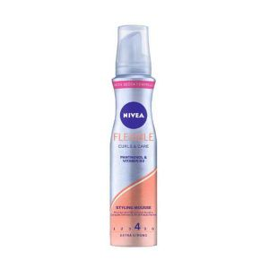 NIVEA Flexible Styling Mousse Pantenol e Vitamin B3 150ml