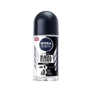 NIVEA Men Deodorante Roll On Black & White Invisible 50 ML