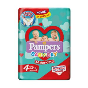 PAMPERS Baby Dry Mutandina Maxi 16pz