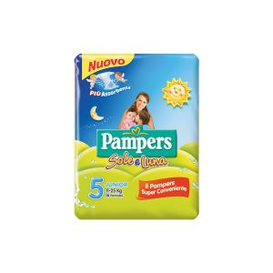 PAMPERS Sole & Luna Junior x 16
