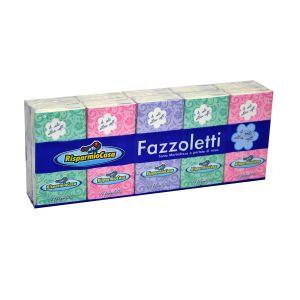 RISPARMIO CASA Fazzoletti Classici 4 Veli 10x9 cm