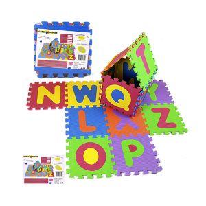 RISPARMIO CASA Mattonelle Puzzle Lettere x 5 pezzi 31,5x31,5 cm