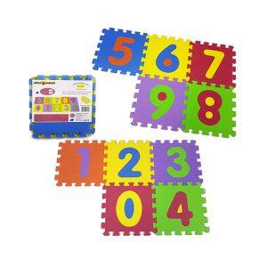 RISPARMIO CASA Mattonelle Puzzle Numeri x 5 pezzi 31,5x31,5 cm