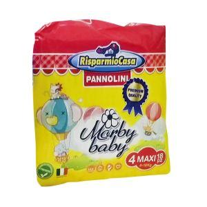 RISPARMIO CASA Pannolini Morby Premium 8-18kg 18 Pezzi