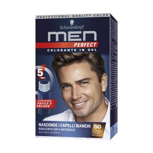 SCHWARZKOPF Men Perfect Colorazione Semipermanente Castano Chiaro Naturale 50