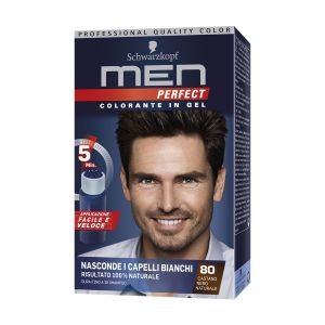 SCHWARZKOPF Men Perfect Colorazione Semipermanente Castano Nero Naturale 80