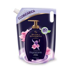 SPUMA DI SCIAMPAGNA Ecoricarica Sapone Crema Ametista & Orchidea 1.5L