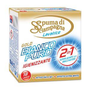 SPUMA DI SCIAMPAGNA Bianco Puro Igienizzante 1kg