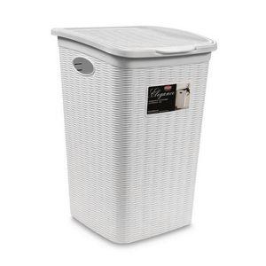 STEFANPLAST Portabiancheria Elegance Bianco 50 L