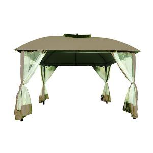 SUMMER LIFE Gazebo in Poliestere 3x3.6x2.95 M