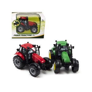 Trattori Farm 2 Assortiti Rosso/Verde 18,5x10,2x12,5cm