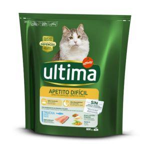 ULTIMA Cat Appetito Difficile 800gr