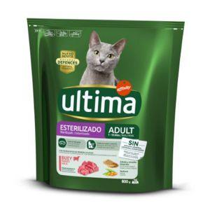 ULTIMA Cat Sterilizzato Manzo 800gr