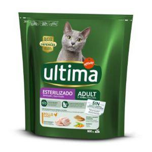 ULTIMA Cat Sterilizzato Pollo 800gr