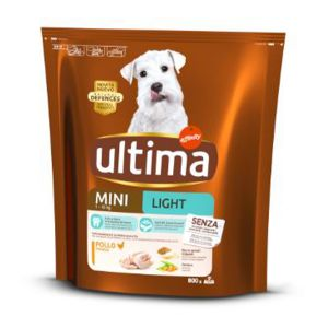 ULTIMA Dog Minilight Pollo 800gr