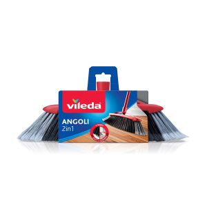 VILEDA Scopa 2in1 Doppio Angolo