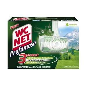 WC NET Profumoso 4 pezzi Mountain Fresh