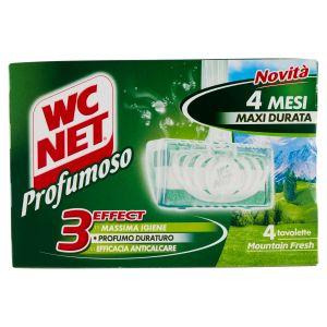 WC NET Tavoletta Profumoso Mountain Fresh Anticalcare 4pz